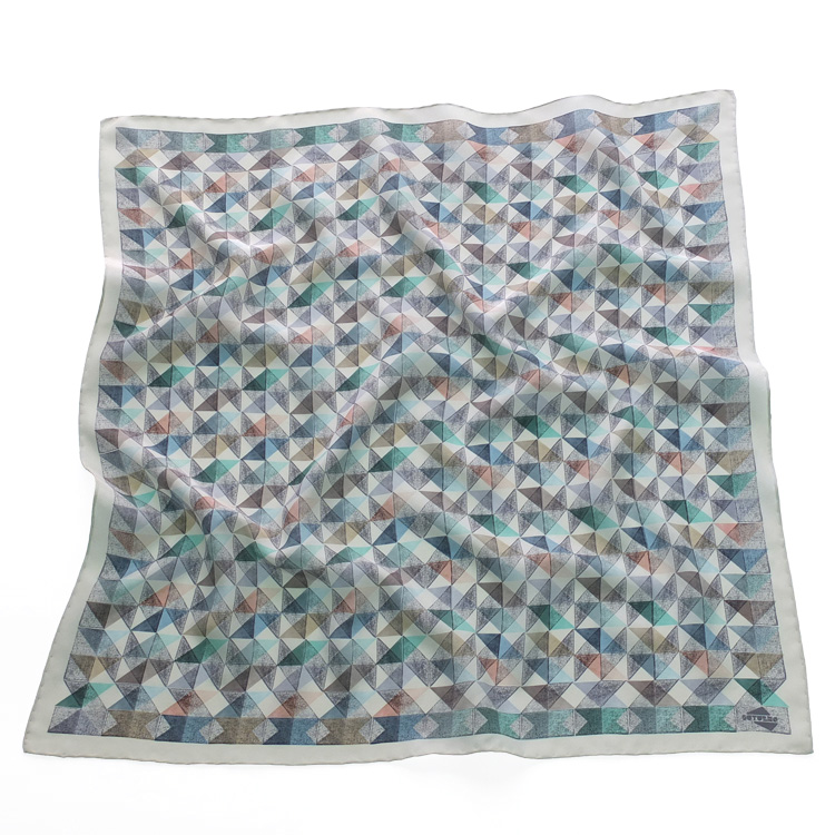 INUTILES scarf cold colours