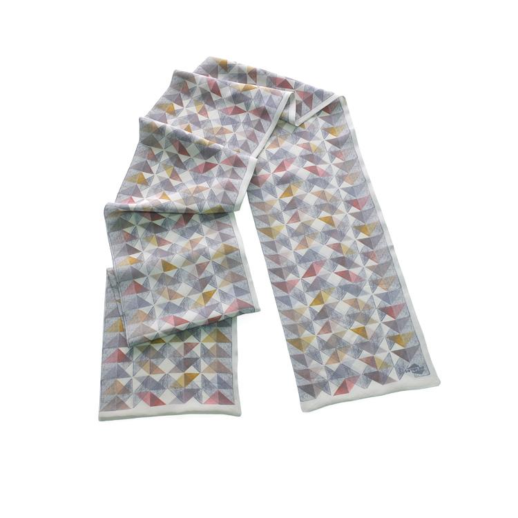 INUTILES fulard warm colours
