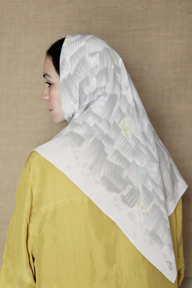 lluvia scarf gray
