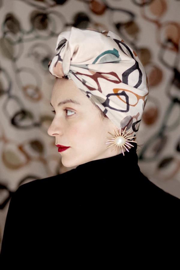 SuTurno Lunettes scarf