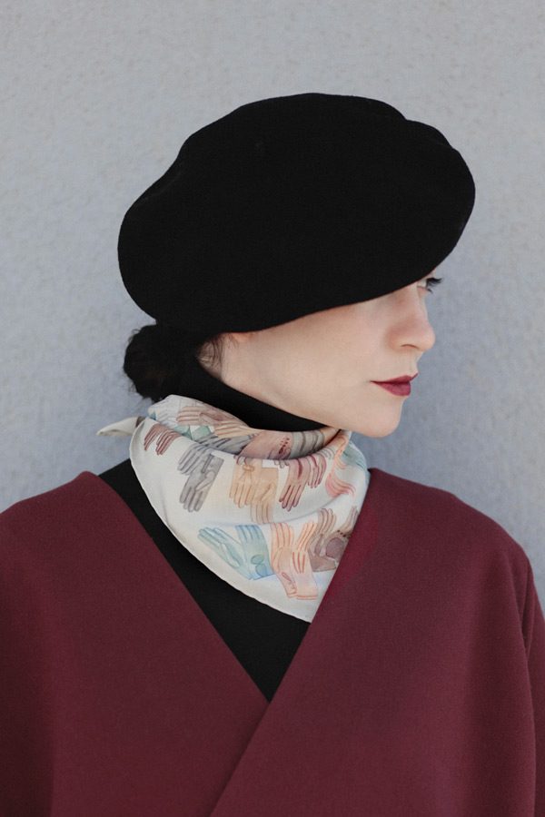 Gants scarf SuTurno